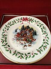 Lenox Holiday Collectible Plate;2004