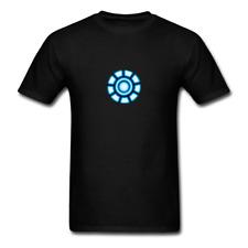 ARC Reactor Men Black White Regular Shirt S-6XL