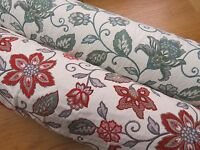 Mirabel Jacobean Flower Heavy Tapestry Curtain Fabric - STUNNING!