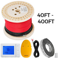 Electric Tile Radiant Warm Floor Heat Heated Kit, 110V, All Sizes Availible