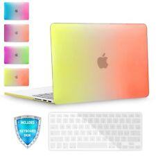 For MacBook Pro 15 A1286 Rainbow Slim Rubberized Plastic Hard Case Keyboard Skin