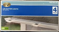 Hampton Bay Solar LED Gutter Lights. 4 pack.