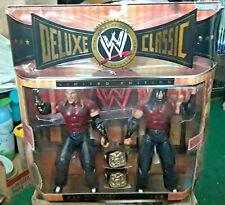 WWE Jakks Classic Deluxe Superstars The Hardy Boyz Jeff & Matt Hardy Figures New