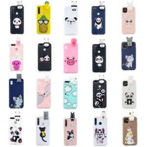 3D Cartoon Cover Case For Samsung Galaxy Note 10 9 A10 A20 A30 A50 A70 S10 S9 S8