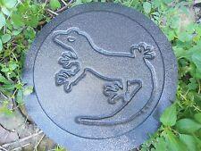 Lizard plaque plastic mold  plaster concrete mould