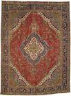 Antique Traditional Floral Handmade 10X13 Vintage Oriental Rug Farmhouse Carpet
