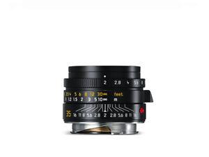 Leica Summicron-M 1:2/35mm, schwarz eloxiert  (NEU) 11673