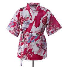 Summer Women Short Kimono Sushi SHOP Serving Uniform Chef Coat Chef Jacket Japan