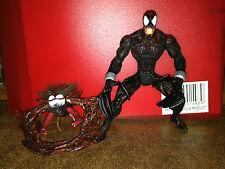 Marvel Comics Spider-Man Venom Along Came A Spider Spider-Carnage Figure Toy Biz