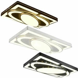 48W-90W LED Deckenleuchte Dimmbar Deckenlampe Wohnzimmer Badleuchte Küchen Lampe