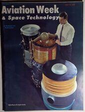 AVIATION WEEK & SPACE TECHNOLOGY Magazine 4/18/1966 Viet Cong offensive