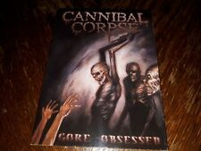 "CANNIBAL CORPSE ""GORE OBSESSED"" FIRST LIMITED EDITION A5 DIGIPAK WITH BONUS TRAC"