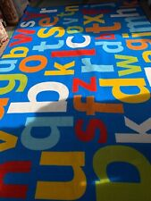 """GROUND-PLAY LEARNING RECTANGLE KIDS RUG 200x300cm (6'7""""x10') NON-SLIP WASHABLE"""