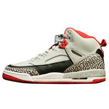 2014 Nike Air Jordan Spizike BG SZ 7Y Wolf Grey Gym Red Black GS 317321-013