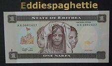 Eritrea 1 Nafka 1997 UNC P-1