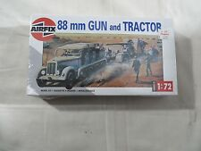 AIRFIX 1:72 88 m Gun and Tractor Model Kit NEW SEALED 02303