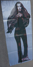 """Rare Vintage 1975 Cher Stars Album Promo Cut Punch Out Poster 68.5x29.5"""""""