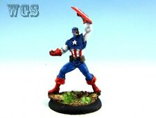 35mm Knight Models WGS painted Batman Miniature Game Captain American KM011