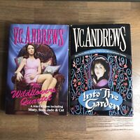 VC Andrews Wildflowers Quartet & Into the Garden Hardcover Books Misty Star Jade