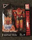 Transformers Titans Return Sentinel Prime Voyager Class Figure Hasbro