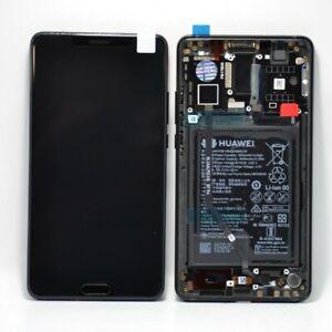 Genuine Huawei Mate 10 (ALP-L29, ALP-L09) LCD Assy Frame Batt New Black 02351QAH