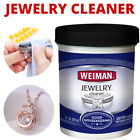 JEWELRY CLEANER SOLUTION Safely Sterling Silver Gold Diamond Ring Cleaning NEW