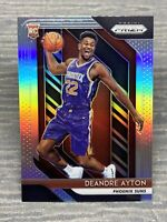 Deandre Ayton Rookie lot with Prizm Silver, patches, and numbered cards!!!