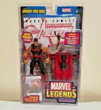 TOY BIZ MARVEL LEGENDS LEGENDARY RIDER SERIES WONDER-MAN(SIMON WILLIAMS) W/CYCLE