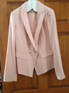 White House Black Market Pink Jacket Blazer 14
