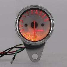 Motorcycle LED Tachometer Fit For Honda  Street Sports Bike Cruiser Touring