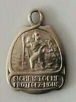 #1344# Jolie Medaille religieuse ancienne Saint Christophe