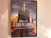 EL SEÑOR DE LA GUERRA THE WAR LORD DVD NUEVO PRECINTADO NICOLAS CAGE THRILLER