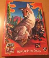 Masterpieces 60 Piece Puzzle Way Out In The Desert (See Description)