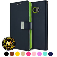 GOOSPERY® [Rich] Diary PU Leather Cover Flip Wallet Case For iPhone Galaxy LG G