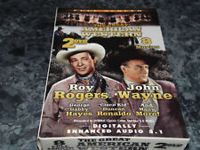 Great American Western, Roy Rogers and John Wayne(DVD, 2005, 2-Disc Set)