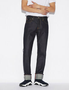 ARMANI EXCHANGE Men`s Jeans Size 32 Straight Made In Italy RRP: 280 EUR
