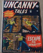 Uncanny Tales #3 (Atlas, 1952) GOLDEN AGE HORROR!