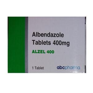 albendazol 400mg  tablets
