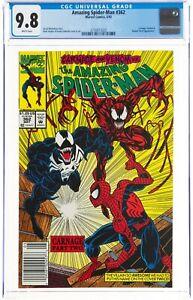 The Amazing Spider-Man #362 (May 1992 Marvel Comics) CGC 9.8 NM/MT | Carnage