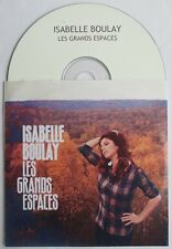 "ISABELLE BOULAY - CD PROMO 15 TITRES ""LES GRANDS ESPACES"""