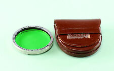 Rolleiflex Bay III (3) Green Filter, in original leather case