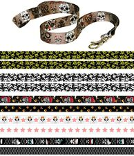 SKULL HEAD GOTH EMO PUNK SKULLS BLOCKERS Quality SATIN LANYARD NECK STRAP RIBBON