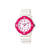 Casio LRW-200H-4BDVF White Resin Strap Watch For Women