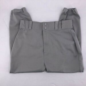 Wilson Youth Baseball Gray Athletic Pants Size XL Relaxed Fit Performance