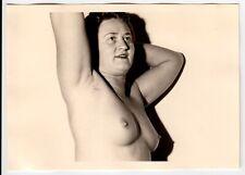 AKTSTUDIE EINER REIFEN FRAU / MATURE WIFE / AKTFOTO * Vintage 50s Nude Photo #2