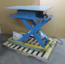 Advance Rotary Scissor Lift Table 5300lb Cap 48 X 48 24x48 2x4 230460 3ph