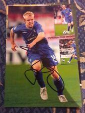Signiertes Foto Steven Naismith Glasgow Rangers NEU