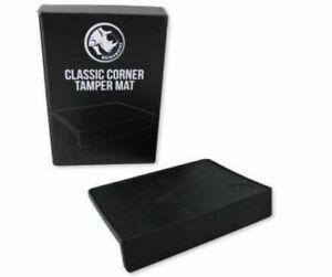 Rhino  Classic Corner Tamp Mat Espresso Coffee Tamper Tamping Mat SEE VIDEO