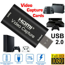 4k Game Video Capture card HDMI a usb2.0 1080p HD grabador Live Video Streaming