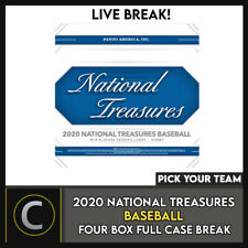 2020 béisbol 4 Caja (NATIONAL TREASURES Completo Funda) romper #A998 - Elige Tu Equipo
